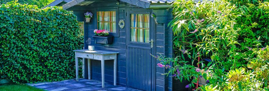Installer un abri de jardin